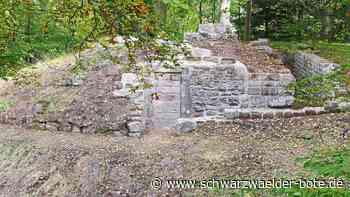 Altensteig (Württ.): Burgruine auf dem Altensteiger Schlossberg ist jetzt wieder für Besucher zugänglich