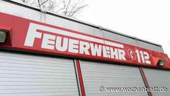Landwirtschaftliche Scheune in Wolnzach stand in Flammen - Wochenblatt.de