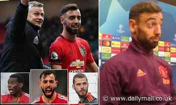 Bruno Fernandes is the leader Manchester United have been missing