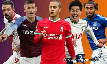 Thiago, Grealish and Kane dazzle in this week's Sportsmail POWER RANKINGS