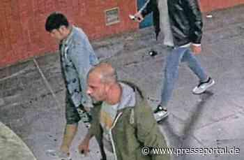 POL-DO: Polizei sucht drei Tatverdächtige nach gefährlicher Körperverletzung mit Fahndungsfotos
