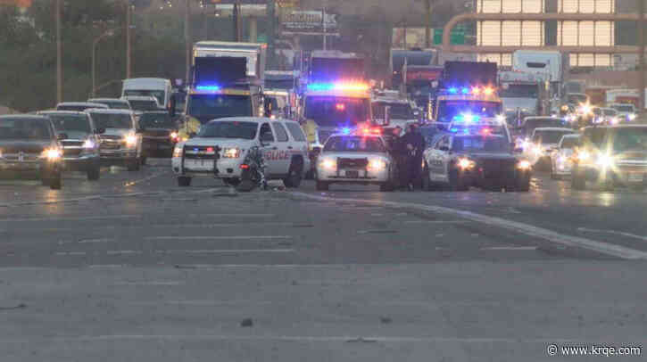 Eastbound I-40 at Big I reopens after crash