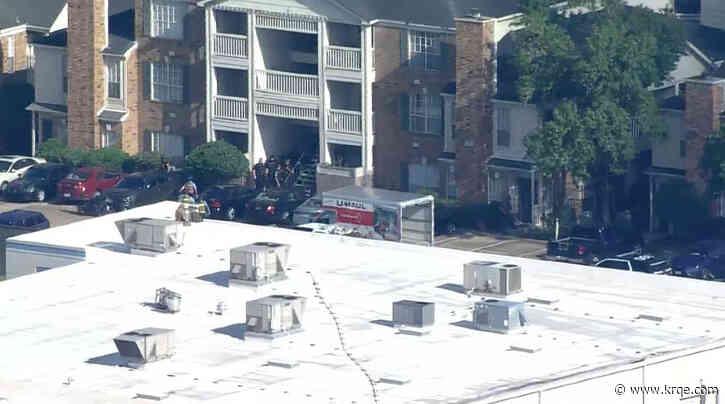 2 Houston police officers shot, suspect in custody