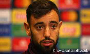 Bruno Fernandes admits Manchester United have not made a good start to the new season