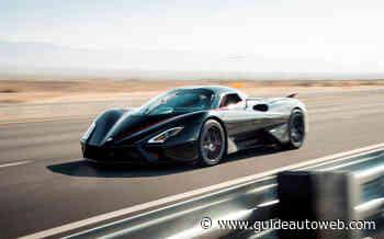 La SSC Tuatara devient l'auto la rapide au monde