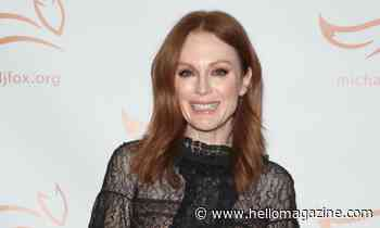 Julianne Moore poses poolside in sensational selfie
