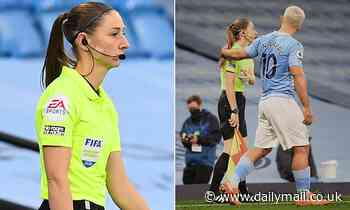 Sian Massey-Ellis plays down the abuse she has suffered in aftermath of Sergio Aguero incident