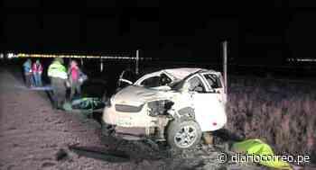 Siete miembros de una familia sufren accidente en vía Carhuamayo-Junín en Huancayo - Diario Correo