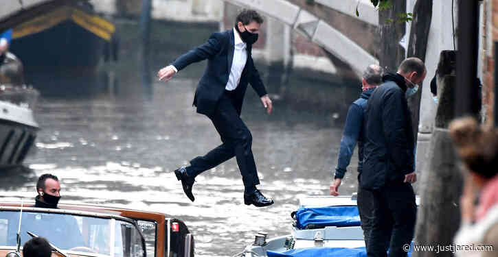 Tom Cruise Jumps from One Water Taxi to Another for 'Mission: Impossible' Stunts in the Venice Canals!