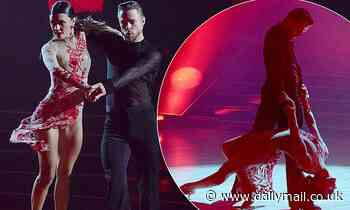 Derek Hough returns to Dancing With The Stars stage to do paso doble with girlfriend Hayley Erbert