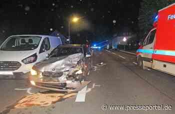 POL-ME: Zwei Schwerverletzte bei Verkehrsunfall - Haan - 2010093 - Presseportal.de