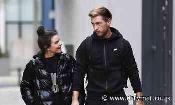 Faye Brookes meets boyfriend in break from Dancing on Ice training