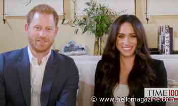 Meghan Markle wows in chic power blazer as she takes on live hosting role with Prince Harry