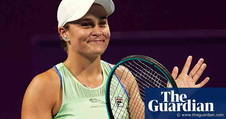Ashleigh Barty happy to rest up at home while retaining world No 1 status | Tumaini Carayol