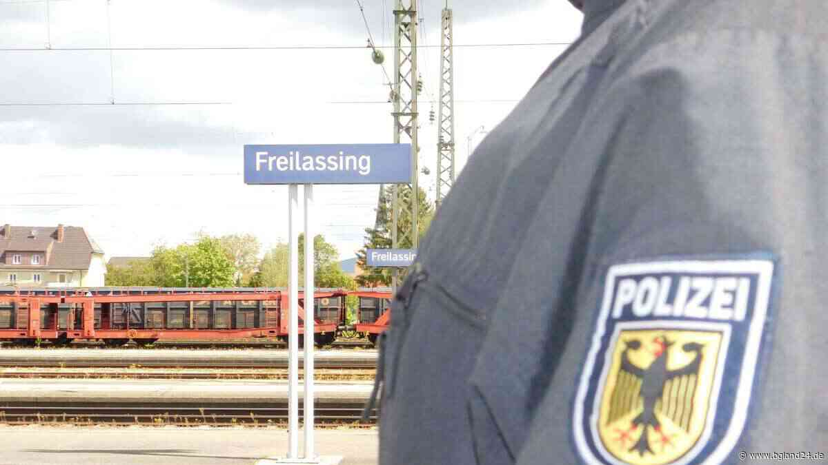 Freilassing: Bundespolizei nimmt 50-Jährigen am Bahnhof Freilassing fest - bgland24.de
