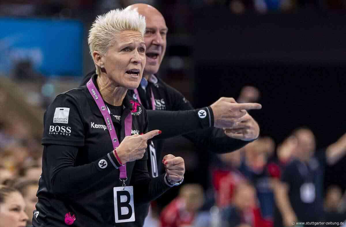 """Edina Rott, Trainerin TuS Metzingen - """"Wir wollen im Derby das Unmögliche möglich machen"""" - Stuttgarter Zeitung"""