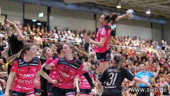 Corona Metzingen: Handballspiel der TusSies Metzingen ohne Zuschauer - SWP