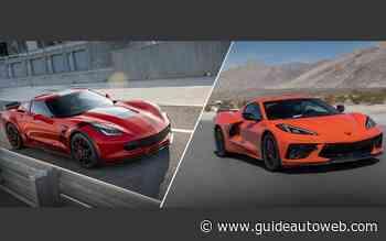 2 Corvette bien spéciales pourraient être à vous