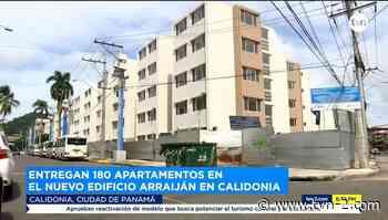 Noticias Entregan 180 apartamentos en el nuevo Edificio Arraiján en Calidonia - TVN Panamá