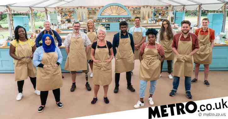 Why do the contestants on Bake Off wear the same clothes for the whole of each episode?