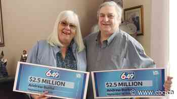 'What's up, bud?': Edmonton-area man wins $2.5M lottery prize ... twice