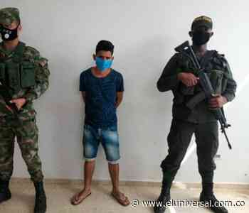 Presunto integrante del Clan del Golfo cae en Tiquisio, sur de Bolívar - El Universal - Colombia