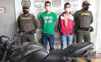Tras cometer atraco a mano armada en la vía Teruel-Yaguará, fueron capturados - Noticias