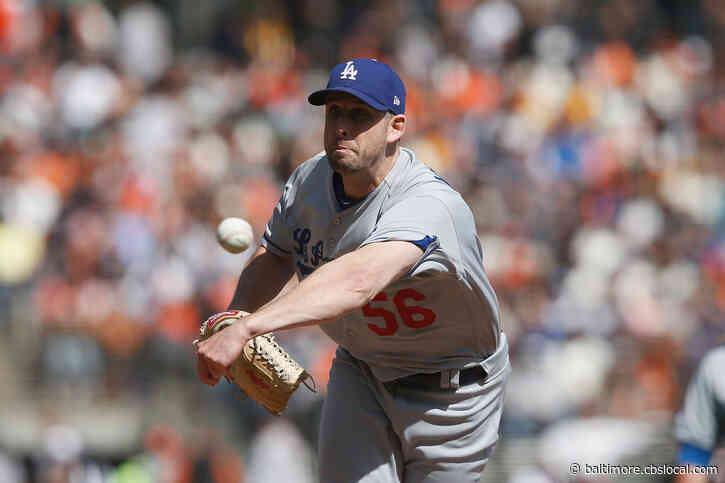 Baltimore Native Adam Kolarek Named To Los Angeles Dodgers World Series Roster
