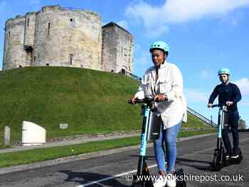 How York aims to lead the way in the North for green travel after launch of e-scooters - Yorkshire Post
