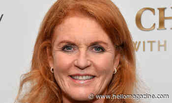Sarah Ferguson stuns in beautiful red dress for important cause