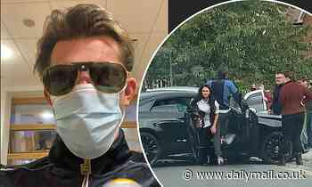 Jack Fincham taken to hospital following 'devastating' car crash