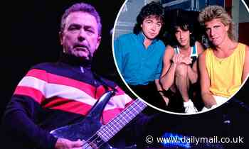 The Outfield singer Tony Lewis dies 'unexpectedly' aged 62