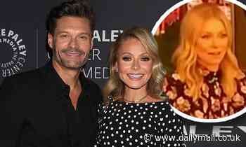 Ryan Seacrest returns to co-host Live With Kelly after two days away