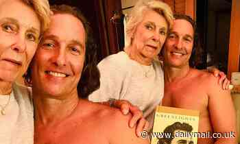 Matthew McConaughey's mother helps him promote Greenlights book