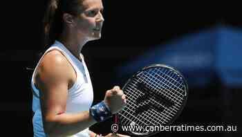 Kasatkina upsets Rybakina at Ostrava Open - The Canberra Times