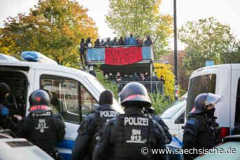 Polizei beendet Hausbesetzung in Dresden - Sächsische Zeitung