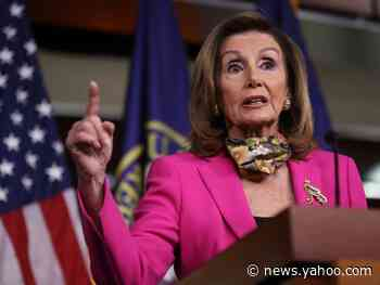 Nancy Pelosi walks back the Tuesday deadline she set for a stimulus deal with the White House