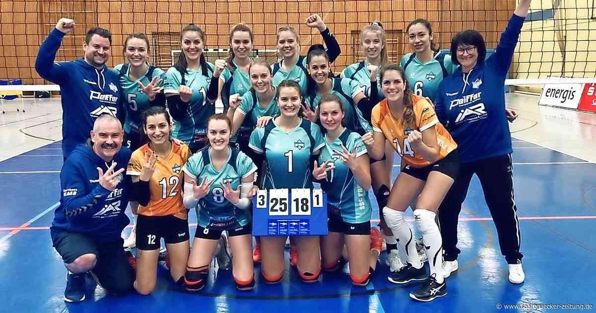 3. Liga Volleyball: Freisen gewinnt Derby in Lebach - Saarbrücker Zeitung