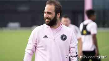 Inter Miami CF forward Gonzalo Higuain says he enjoys playing soccer again in MLS