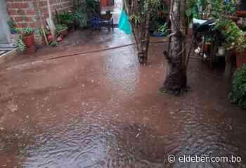 Torrencial lluvia cae sobre San Ignacio de Velasco | EL DEBER - EL DEBER
