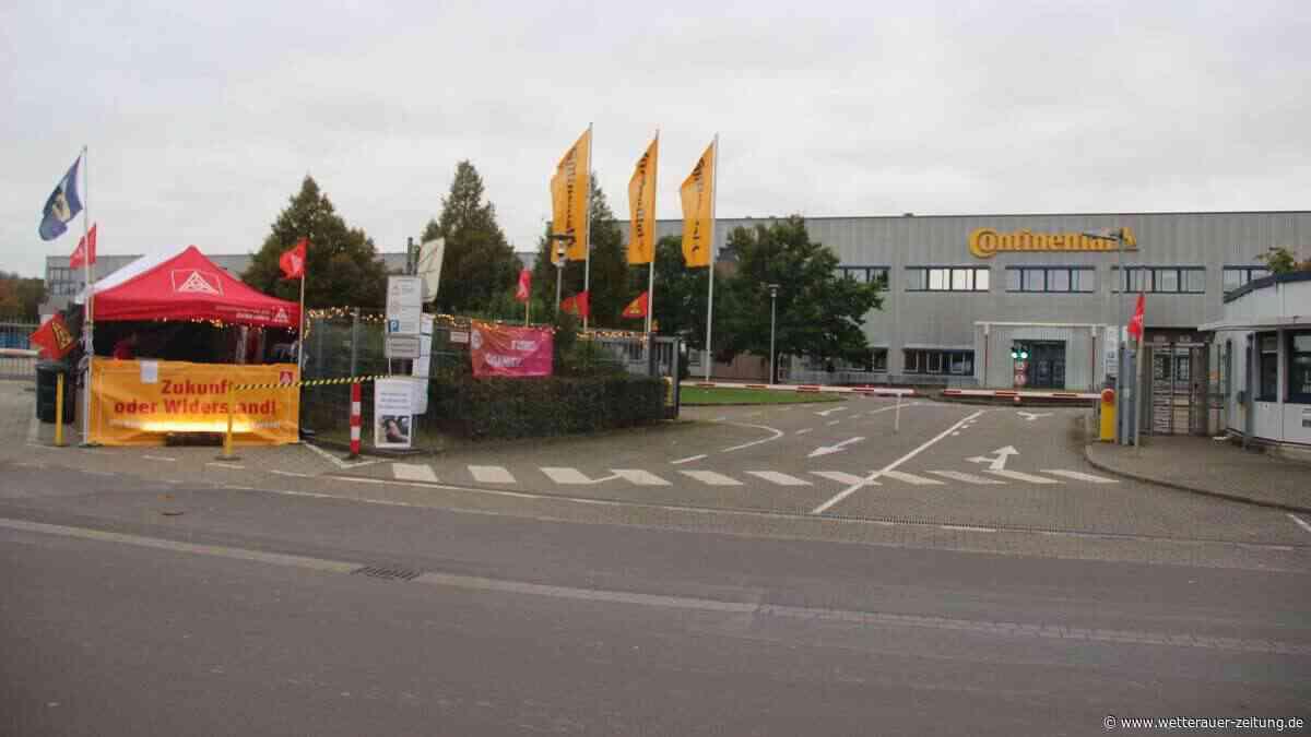 Conti-Werk: IG-Metall-Vertreter äußert Hoffnung - Wetterauer Zeitung