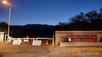 Catalina State Park closed due to Catalina Fire - KVOA Tucson News