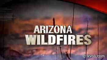 Catalina Fire burning east of Oracle and Rancho Vistoso - KVOA Tucson News