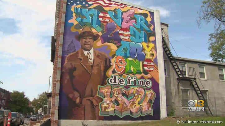 New Mural Painted In Baltimore Dedicated To Memory Of Rep. Elijah Cummings