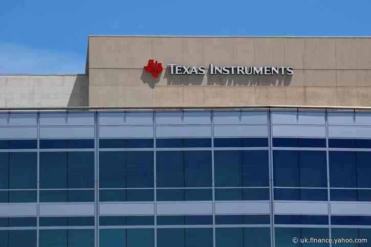 Texas Instruments posts rare revenue rise as consumers splurge on electronics
