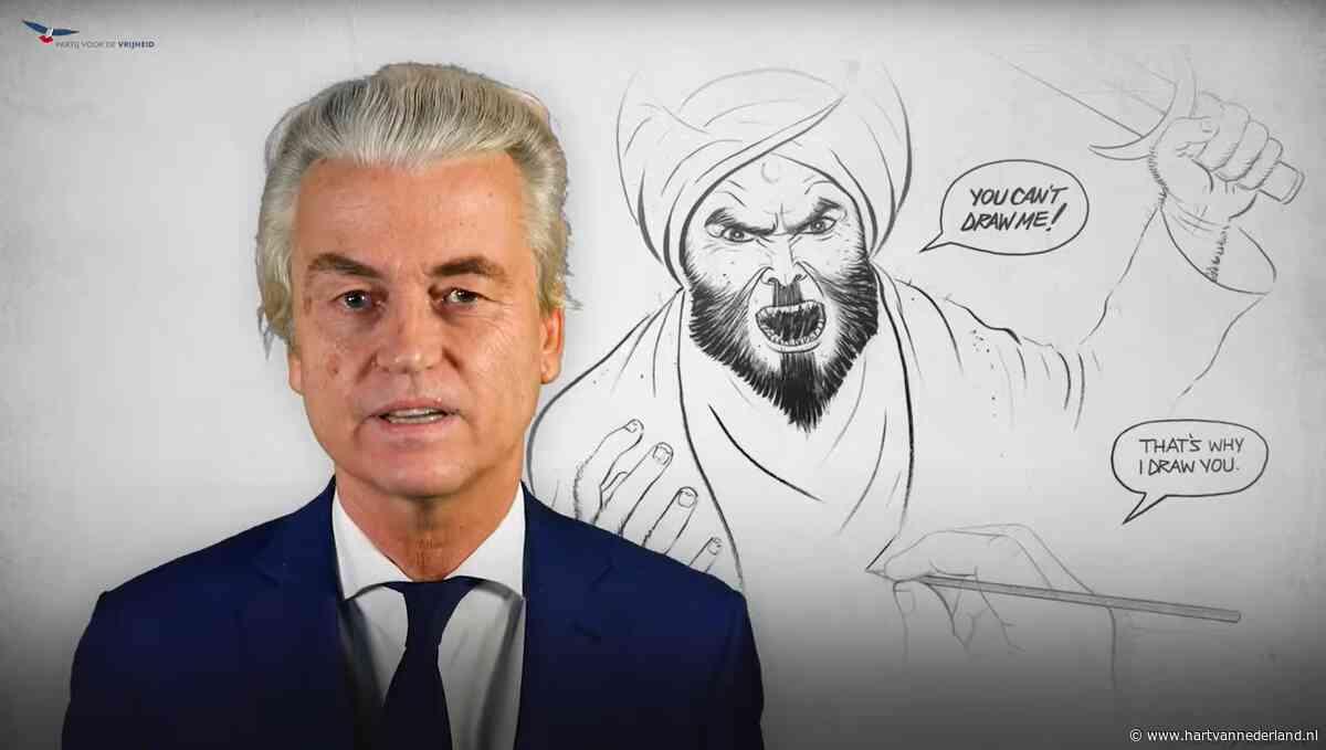 Na onthoofding Franse leraar roept Geert Wilders op: plaats Mohammed-cartoon online - Hartvannederland.nl