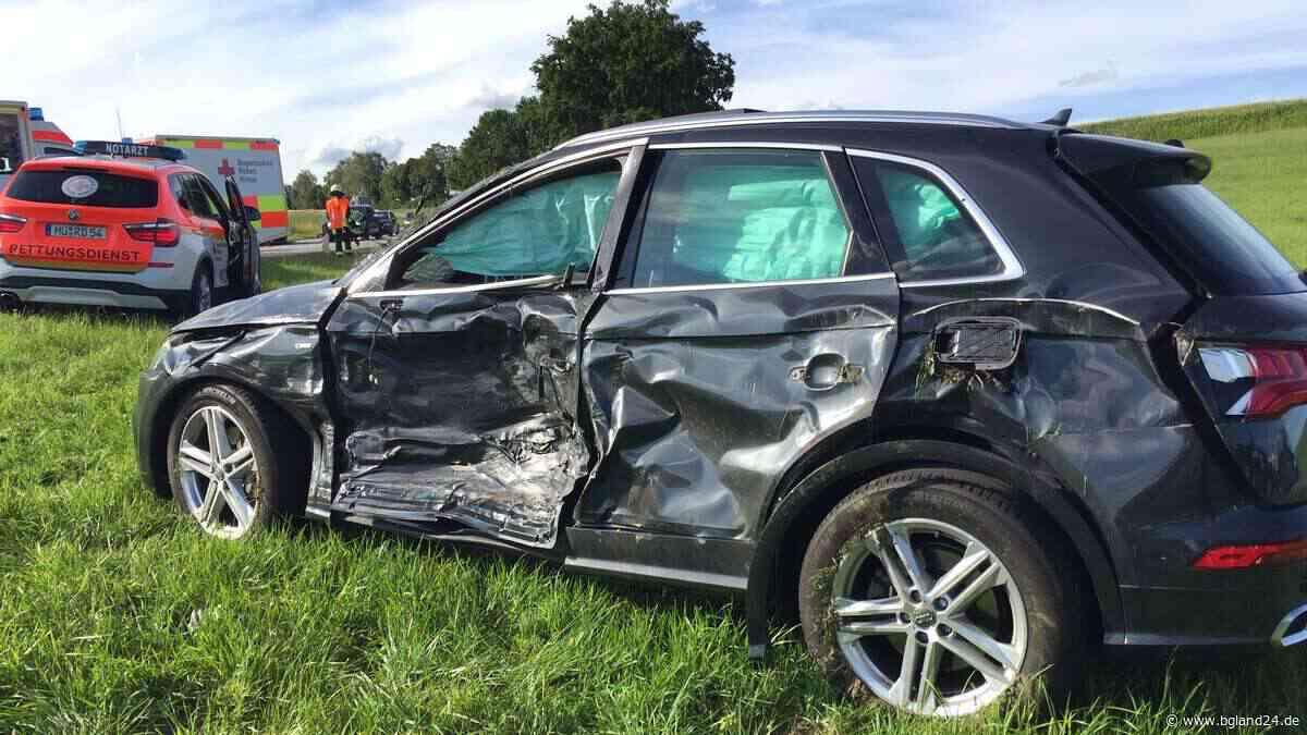 Heftiger Crash in Soyen: Autos stoßen auf B15 zusammen - bgland24.de