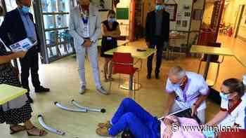 santé : À Villiers-Saint-Denis, un siège de relevage pour le service gériatrie - L'Union