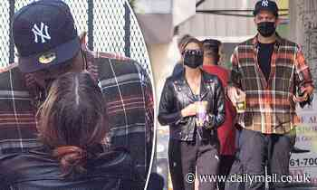 G-Eazy and Ashley Benson engage in PDA during coffee outing in LA as their romance continues