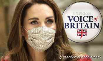 Kate voted Royal Family's leading role model through pandemic - poll
